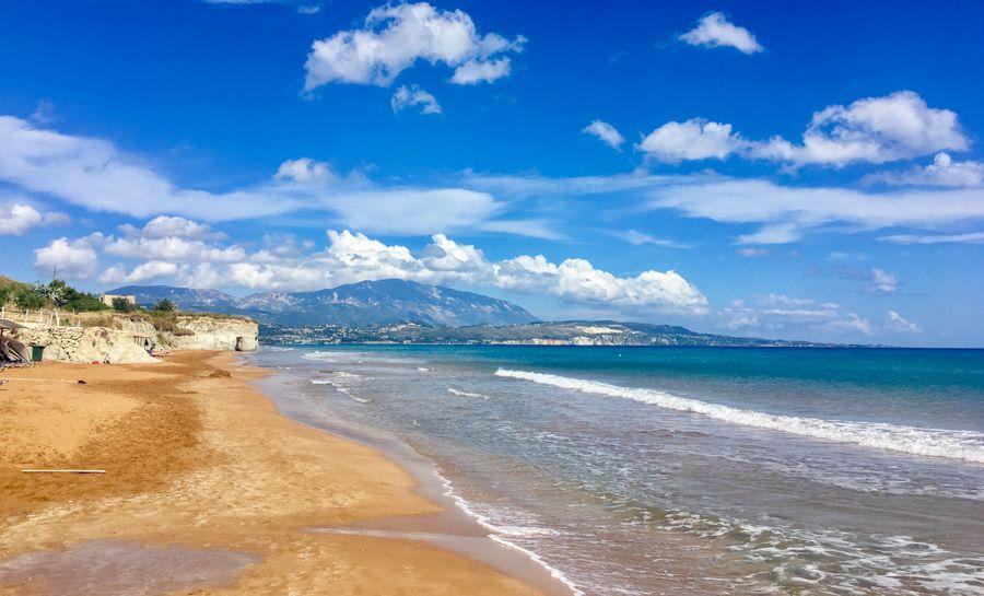 meilleures plages de Grèce - plage de Xi