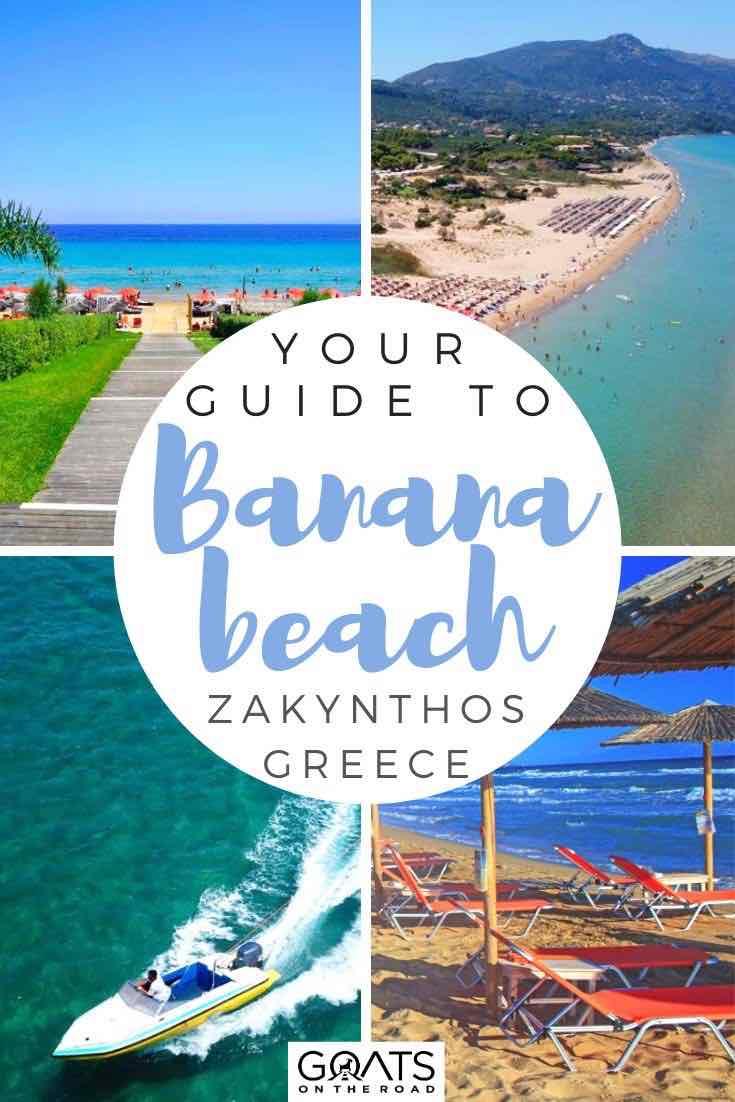banana beach : les points forts avec le texte en superposition votre guide