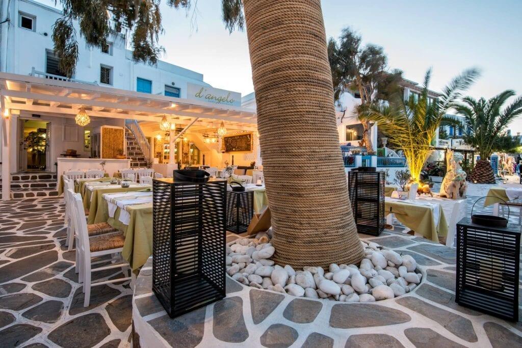 D'Angelo, les meilleurs restaurants de la ville de Mykonos